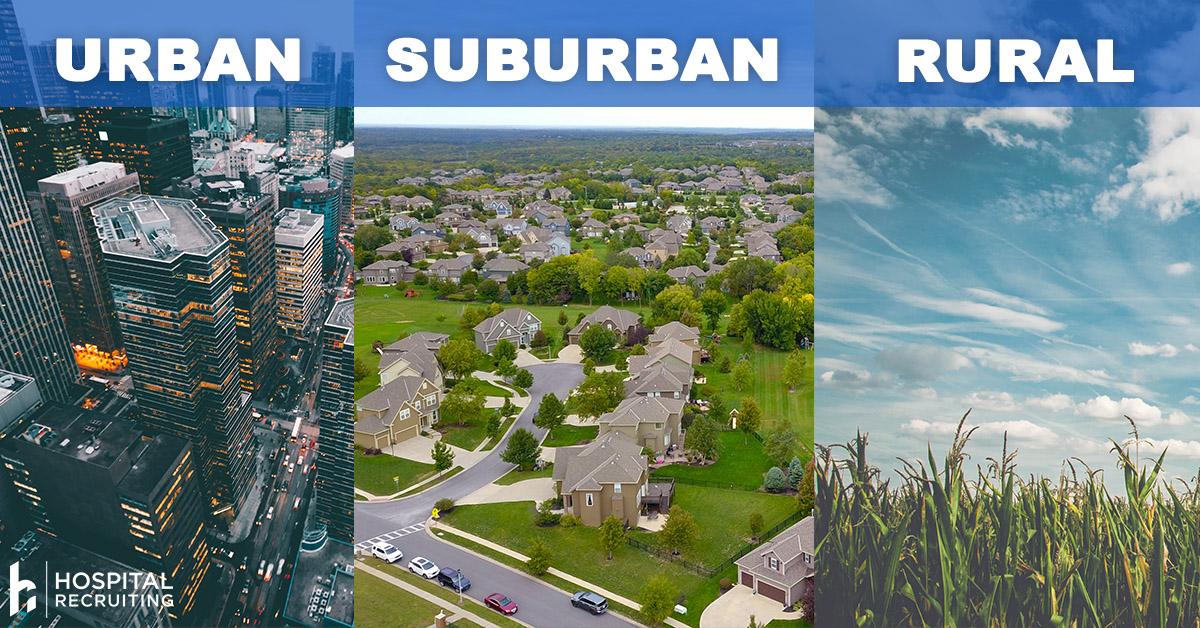 rural urban suburban practice